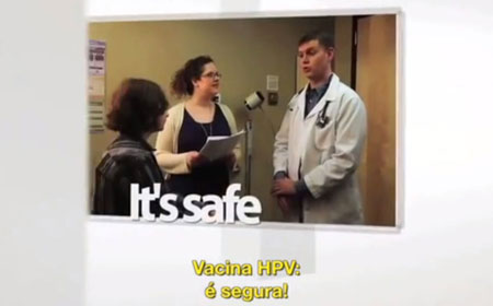video vacina hpv é segura