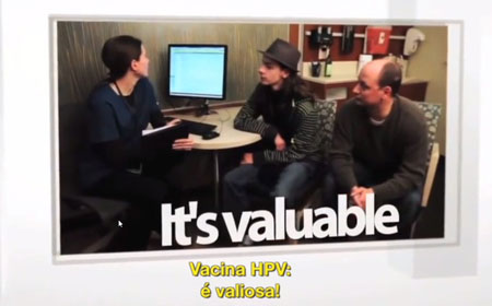 video vacina hpv é valiosa